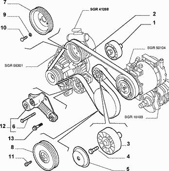 40074 Au Secours Probleme De Pompe De Direction 156 on Alfa Romeo 156